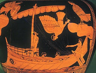 Circe Told Me That I Alone Was To Hear The Song So My Crew Kindly Bound Mast With Galling Ropes Melted Some Wax In Hands And