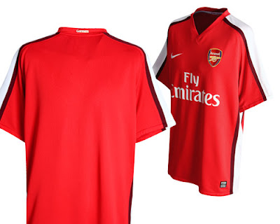 timeless design bbe1a 7fbc5 New Kits on The Blog: Arsenal Home Kit 2008/09