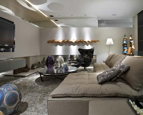 home theater casa design interior. Black Bedroom Furniture Sets. Home Design Ideas