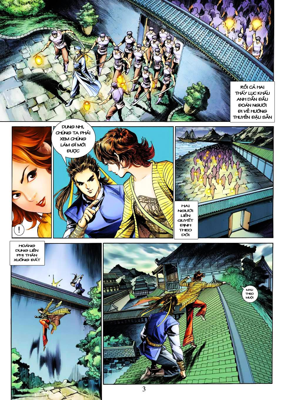 Anh Hùng Xạ Điêu anh hùng xạ đêu chap 27 trang 3