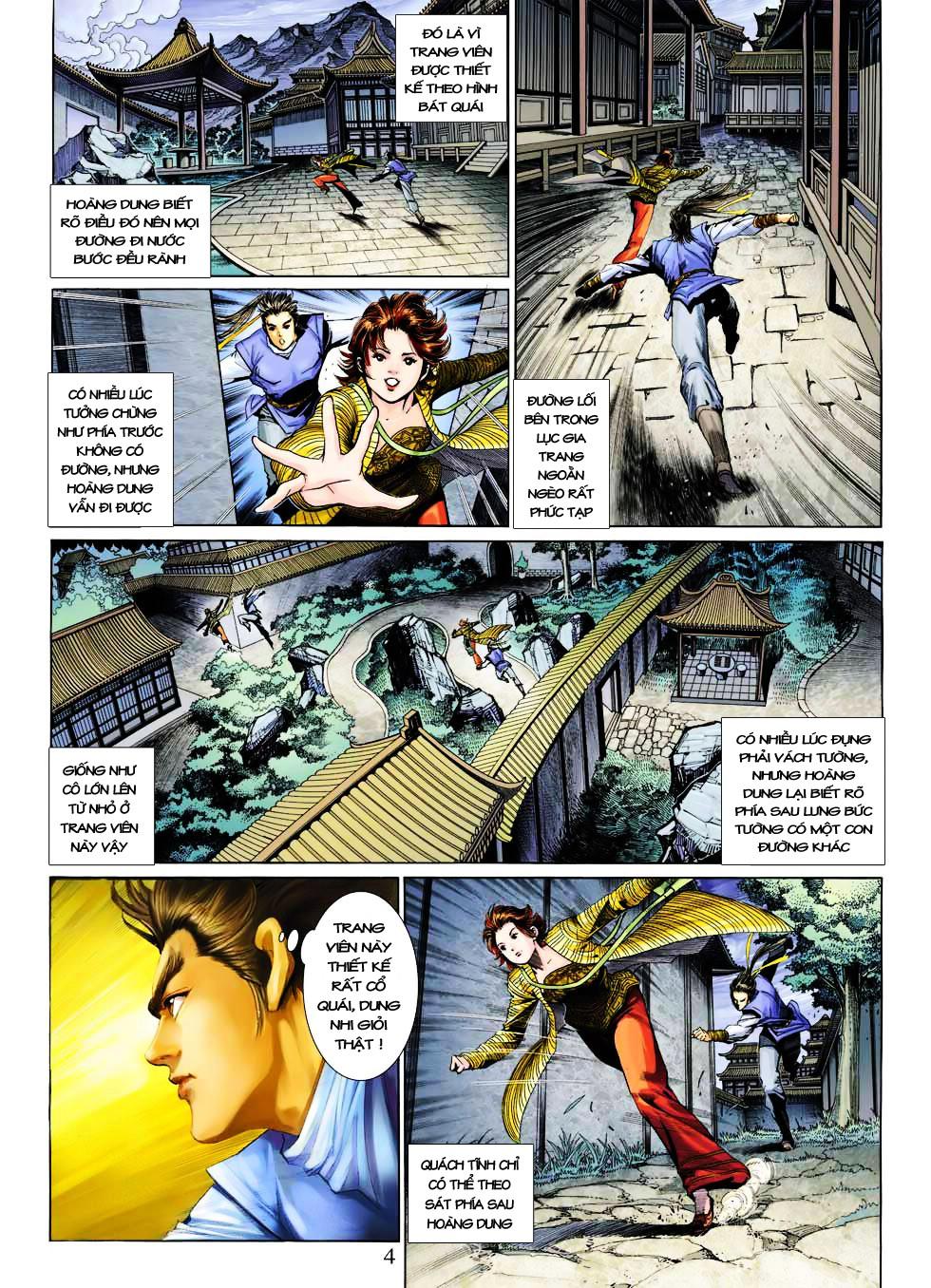 Anh Hùng Xạ Điêu anh hùng xạ đêu chap 27 trang 4