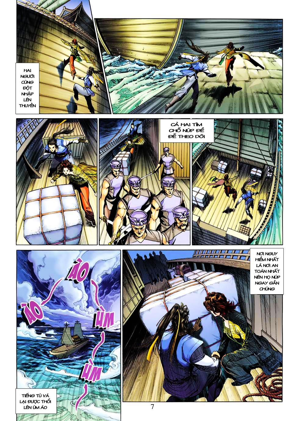 Anh Hùng Xạ Điêu anh hùng xạ đêu chap 27 trang 7