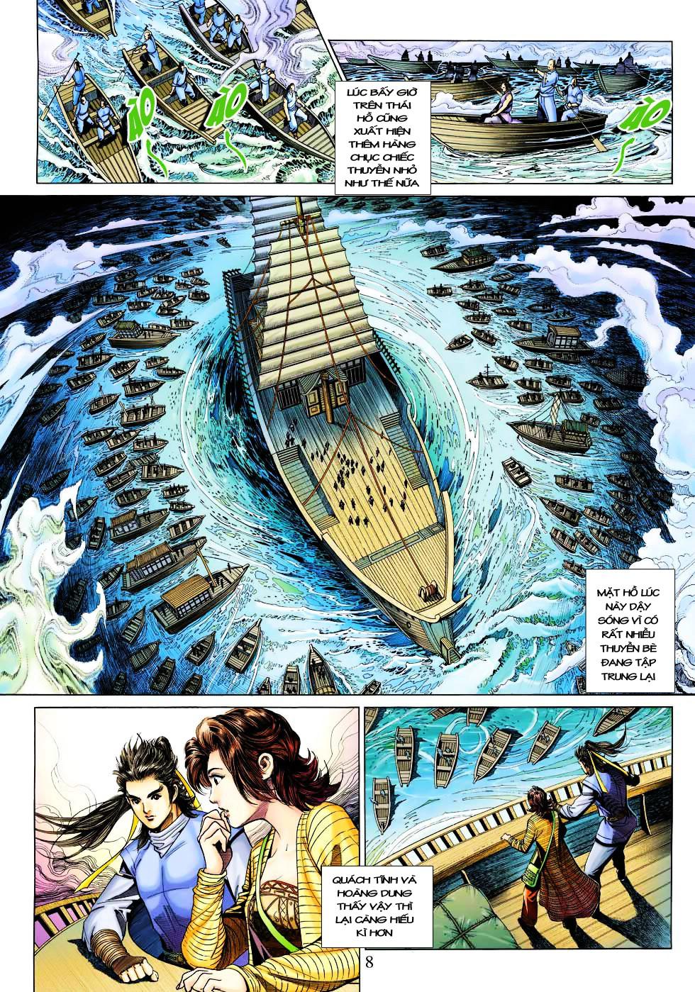 Anh Hùng Xạ Điêu anh hùng xạ đêu chap 27 trang 8