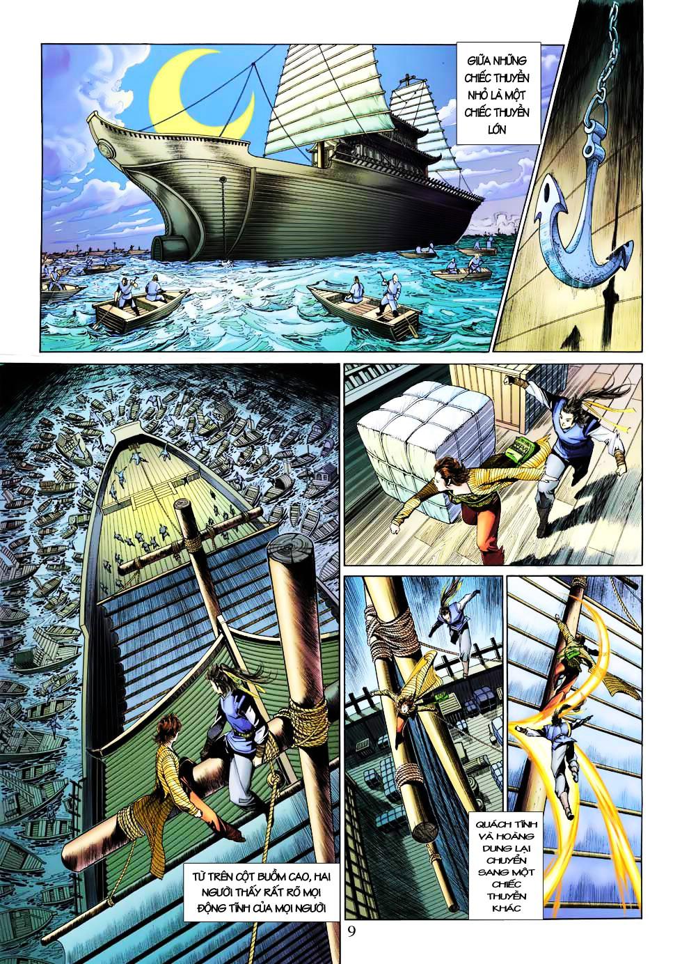 Anh Hùng Xạ Điêu anh hùng xạ đêu chap 27 trang 9