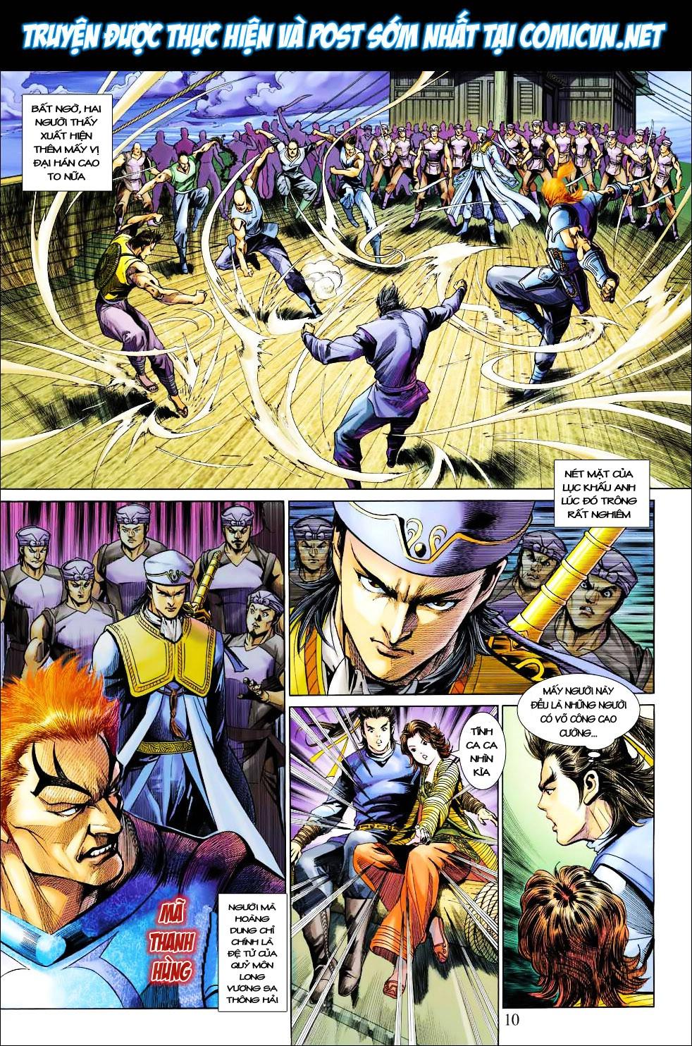 Anh Hùng Xạ Điêu anh hùng xạ đêu chap 27 trang 10