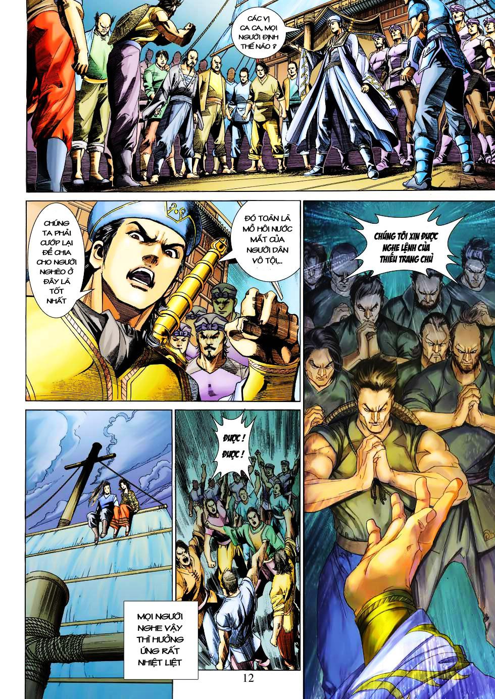 Anh Hùng Xạ Điêu anh hùng xạ đêu chap 27 trang 12