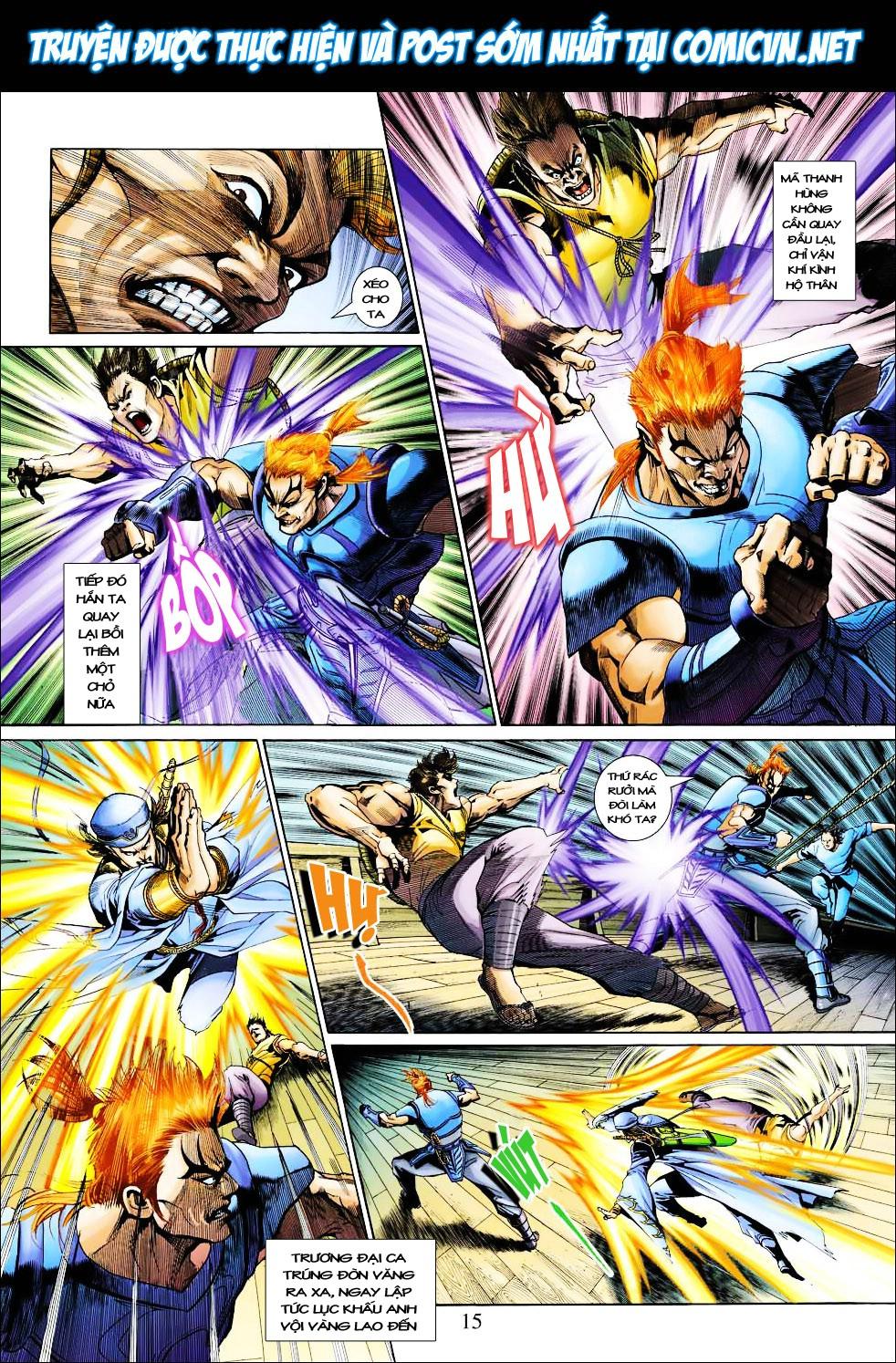 Anh Hùng Xạ Điêu anh hùng xạ đêu chap 27 trang 15