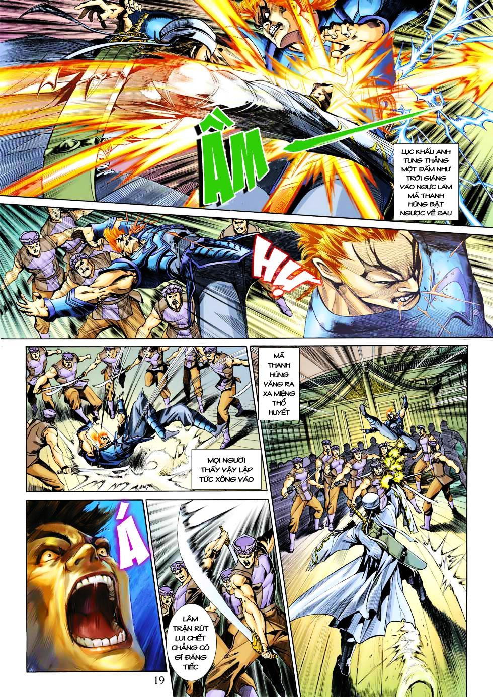 Anh Hùng Xạ Điêu anh hùng xạ đêu chap 27 trang 19