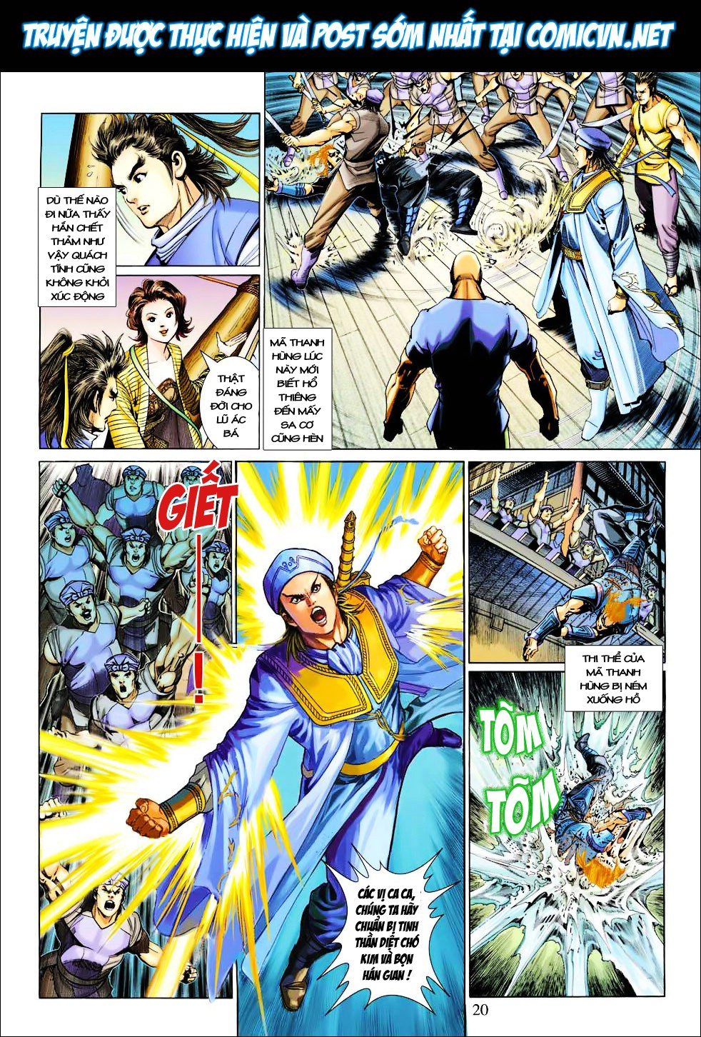 Anh Hùng Xạ Điêu anh hùng xạ đêu chap 27 trang 20