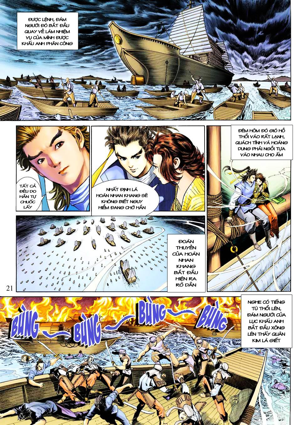 Anh Hùng Xạ Điêu anh hùng xạ đêu chap 27 trang 21