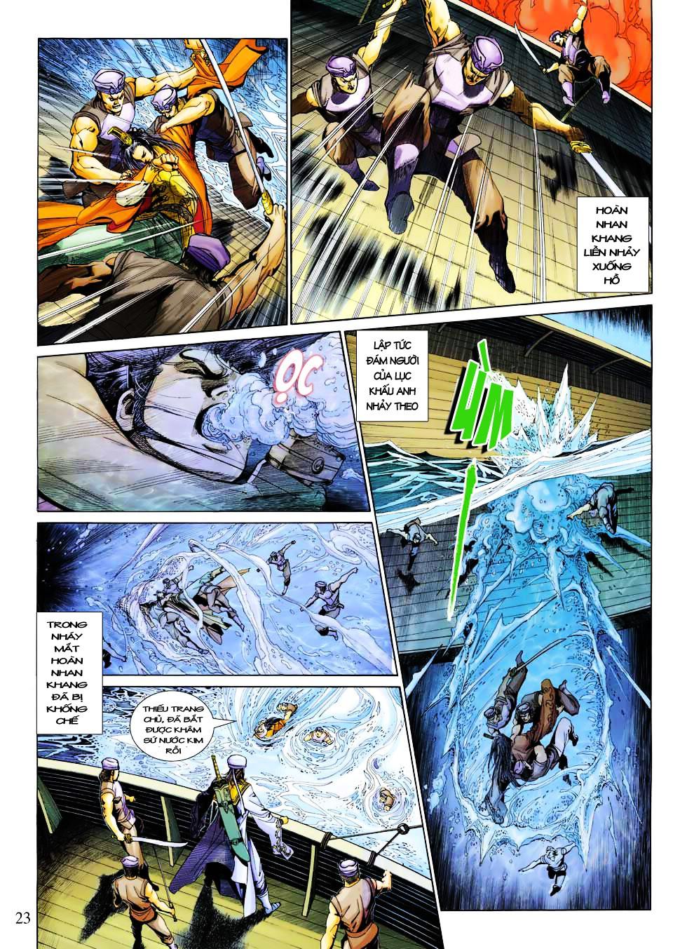 Anh Hùng Xạ Điêu anh hùng xạ đêu chap 27 trang 23