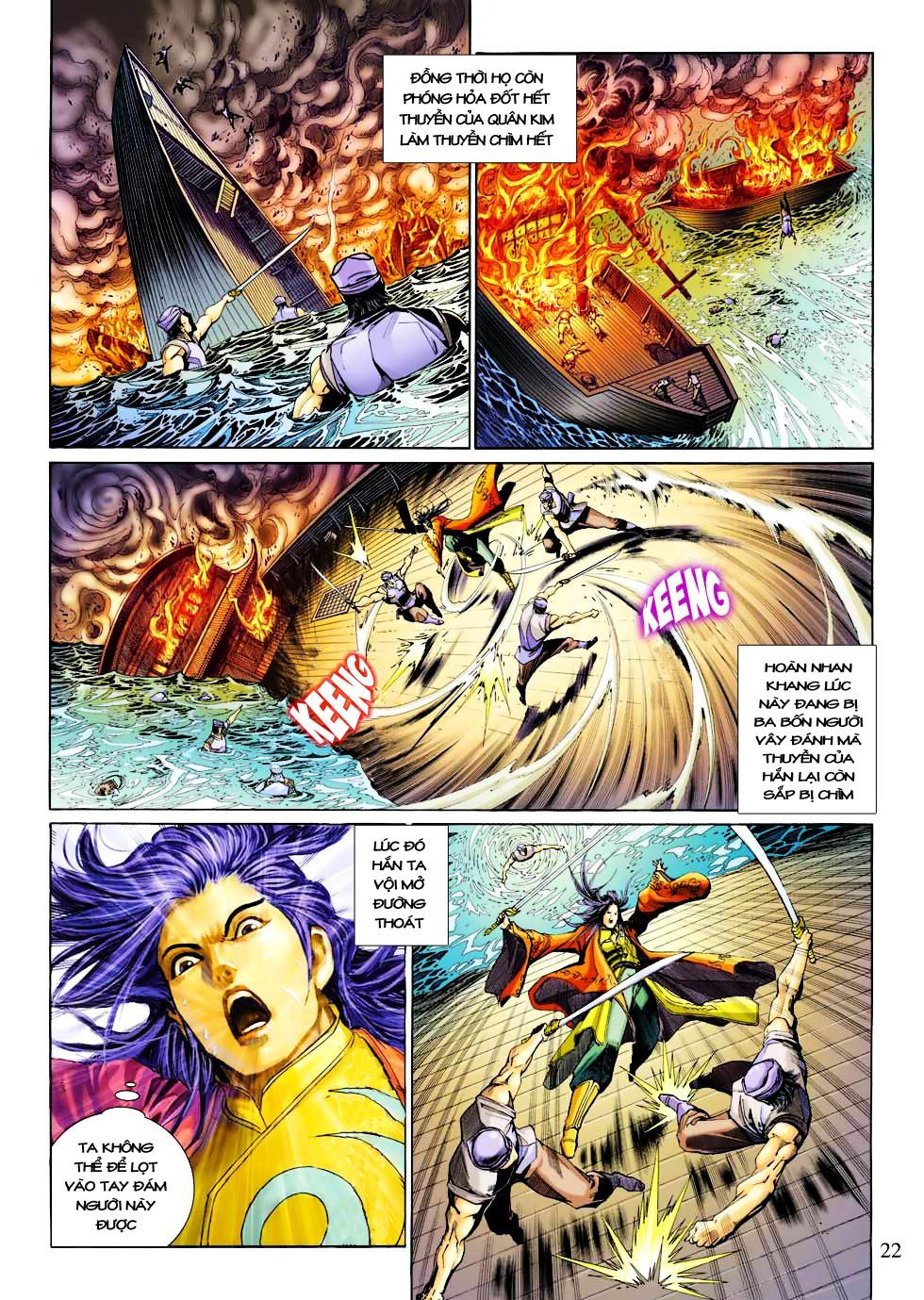 Anh Hùng Xạ Điêu anh hùng xạ đêu chap 27 trang 22