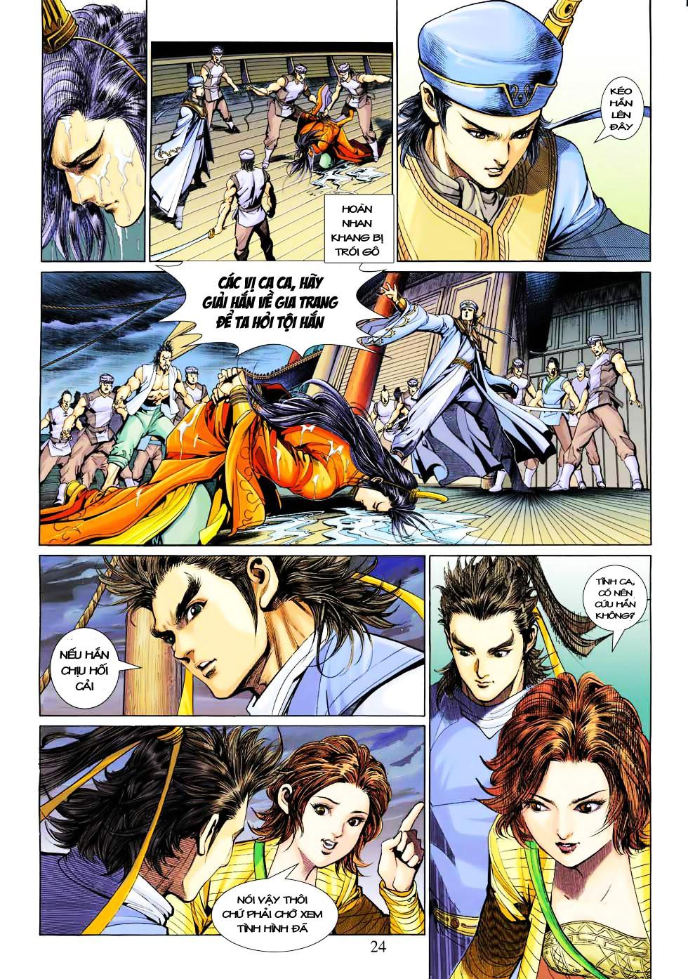 Anh Hùng Xạ Điêu anh hùng xạ đêu chap 27 trang 24