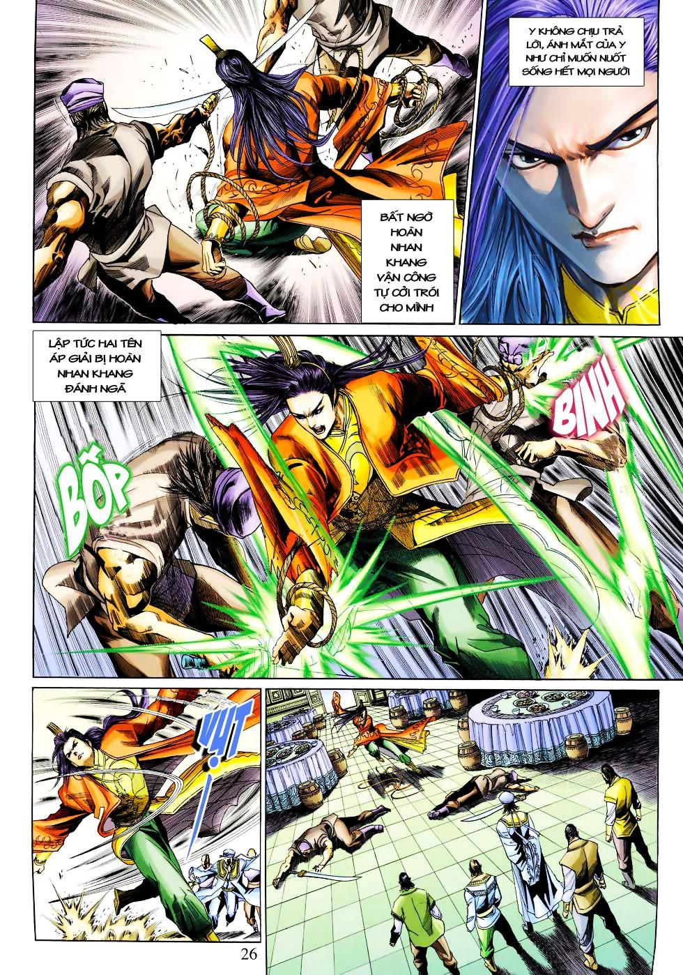 Anh Hùng Xạ Điêu anh hùng xạ đêu chap 27 trang 26