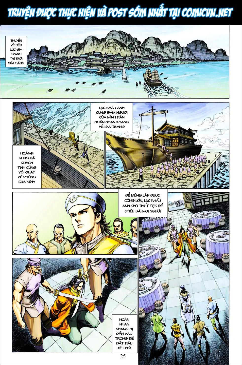 Anh Hùng Xạ Điêu anh hùng xạ đêu chap 27 trang 25