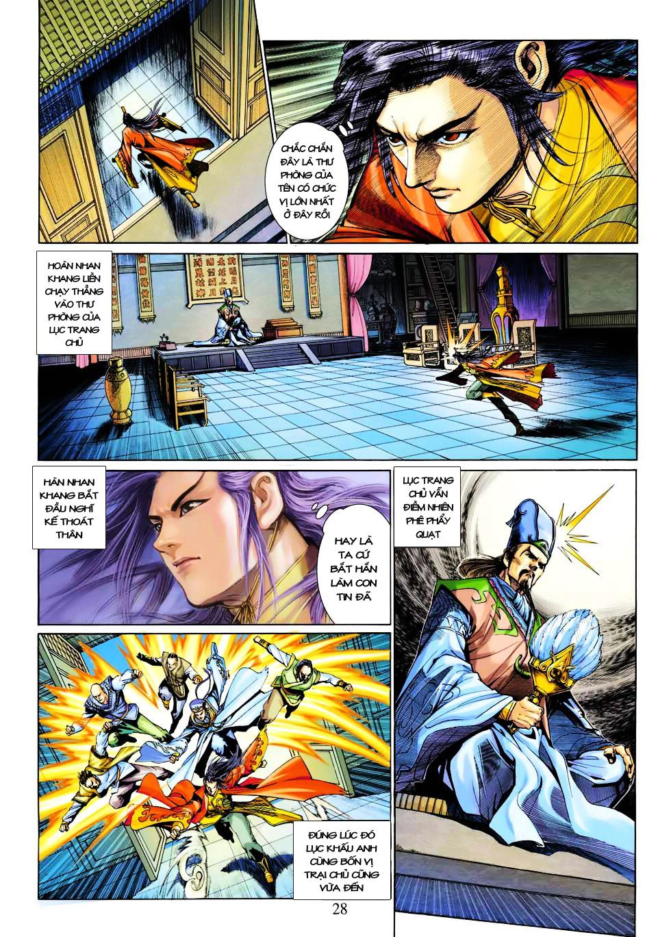 Anh Hùng Xạ Điêu anh hùng xạ đêu chap 27 trang 28