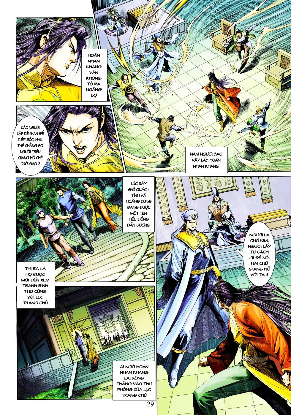 Anh Hùng Xạ Điêu anh hùng xạ đêu chap 27 trang 29