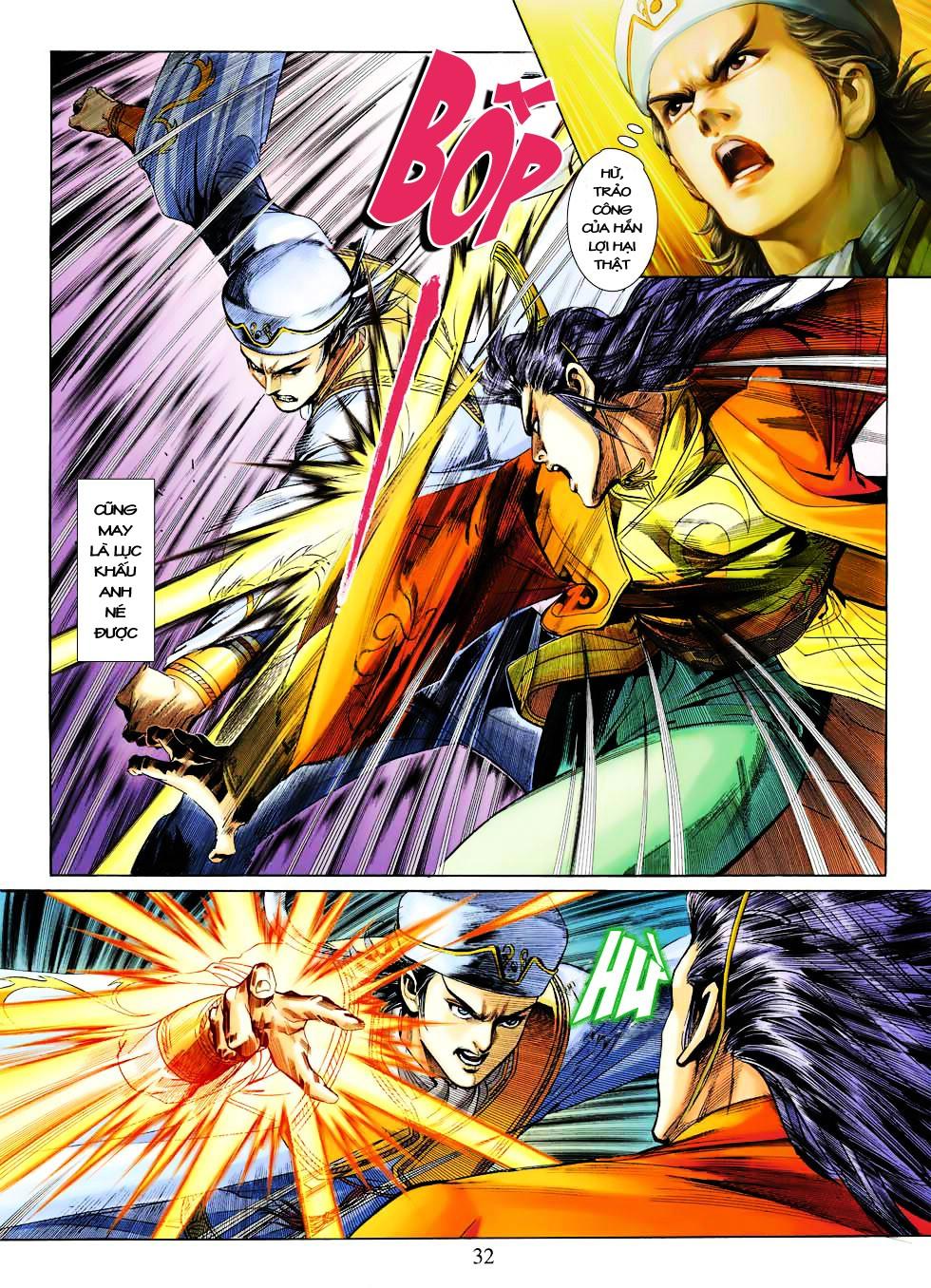 Anh Hùng Xạ Điêu anh hùng xạ đêu chap 27 trang 31