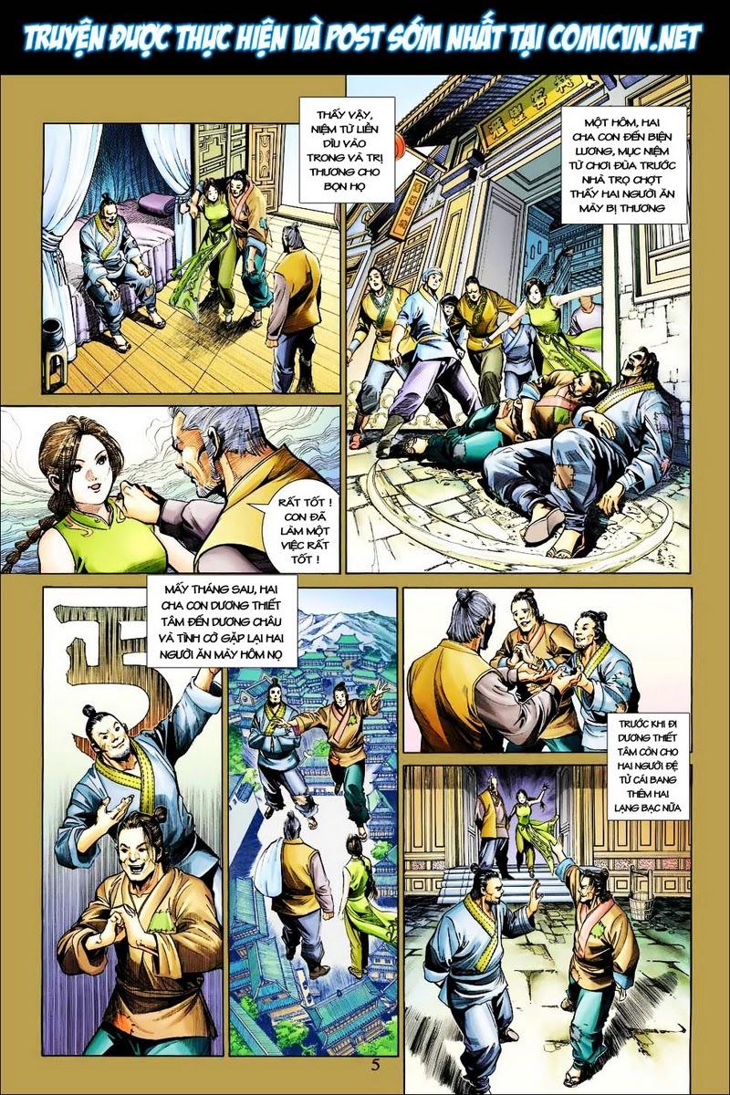Anh Hùng Xạ Điêu anh hùng xạ đêu chap 25 trang 5