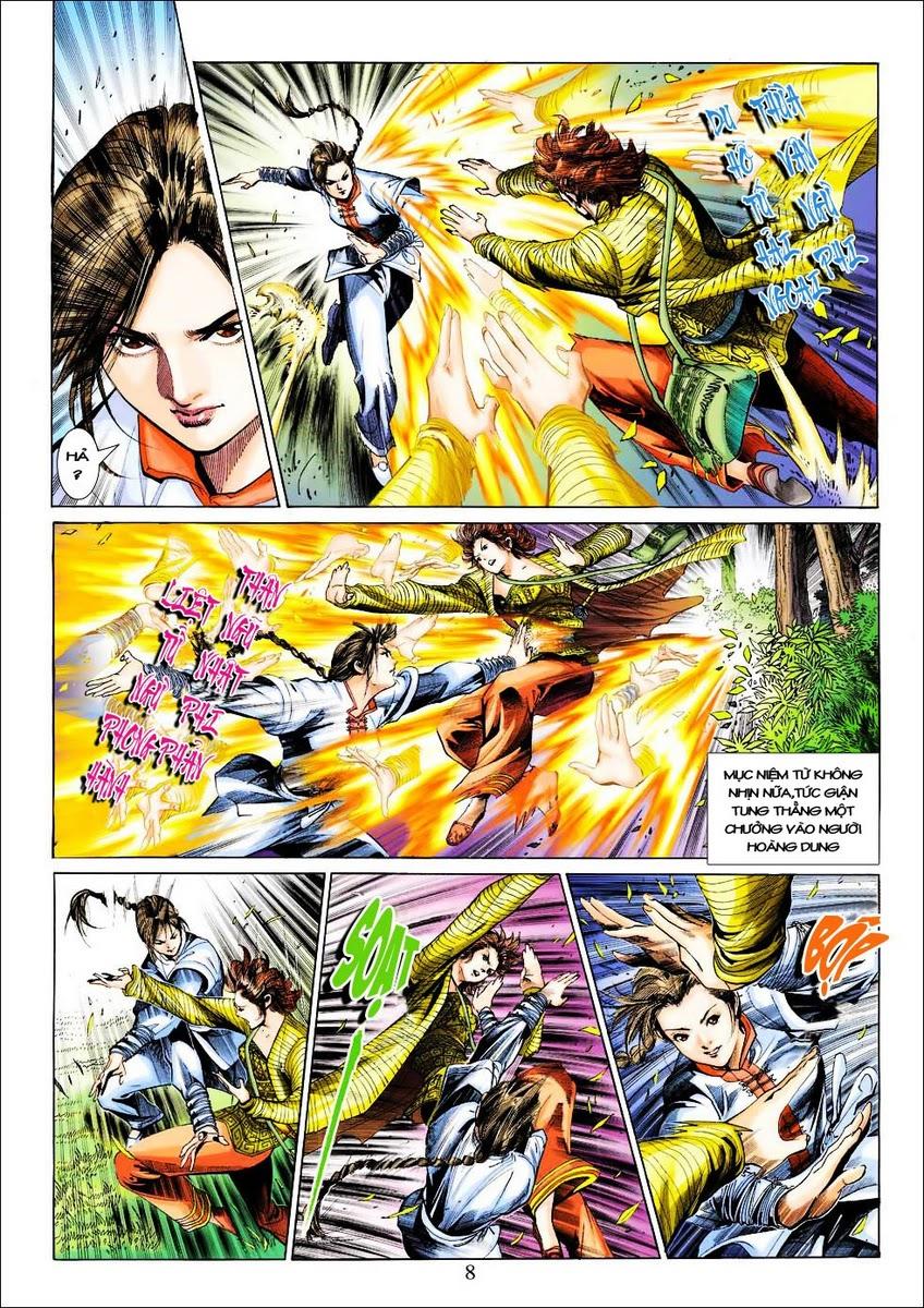 Anh Hùng Xạ Điêu anh hùng xạ đêu chap 25 trang 8