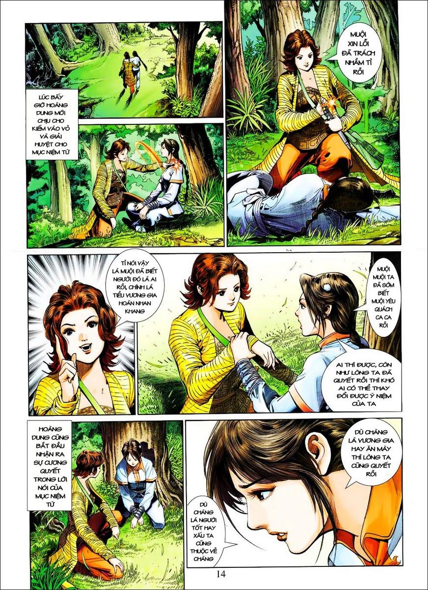 Anh Hùng Xạ Điêu anh hùng xạ đêu chap 25 trang 14