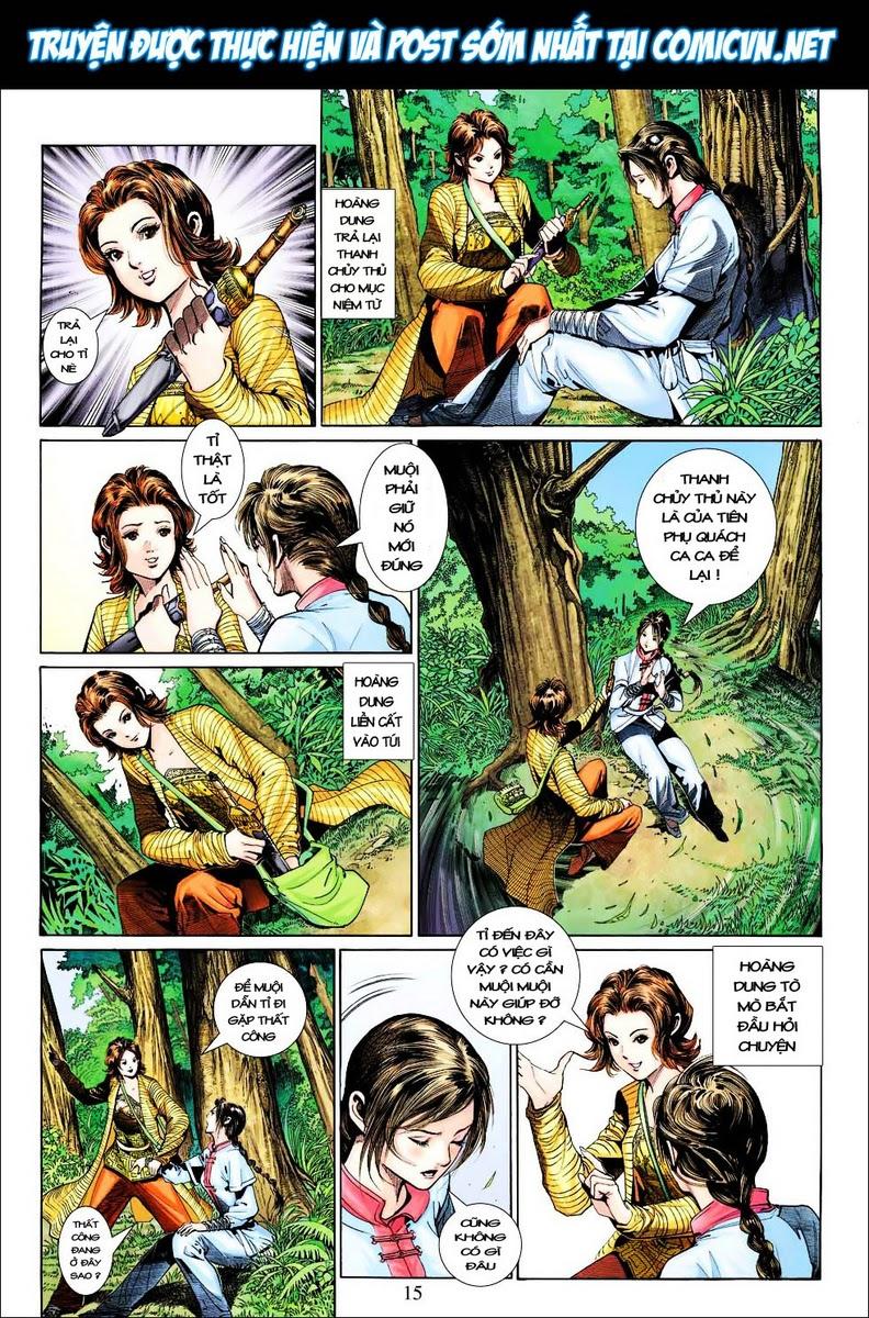 Anh Hùng Xạ Điêu anh hùng xạ đêu chap 25 trang 15