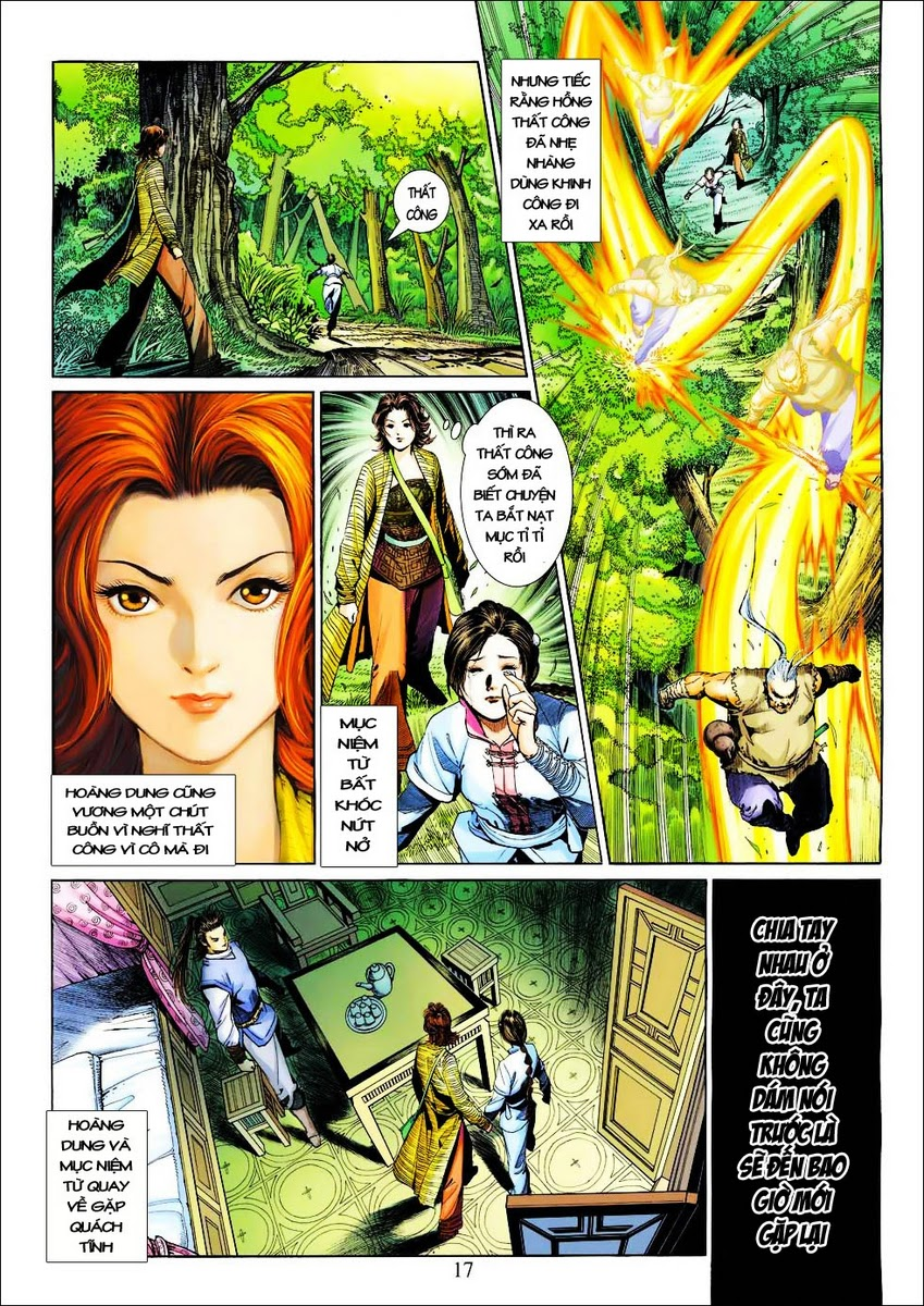 Anh Hùng Xạ Điêu anh hùng xạ đêu chap 25 trang 17