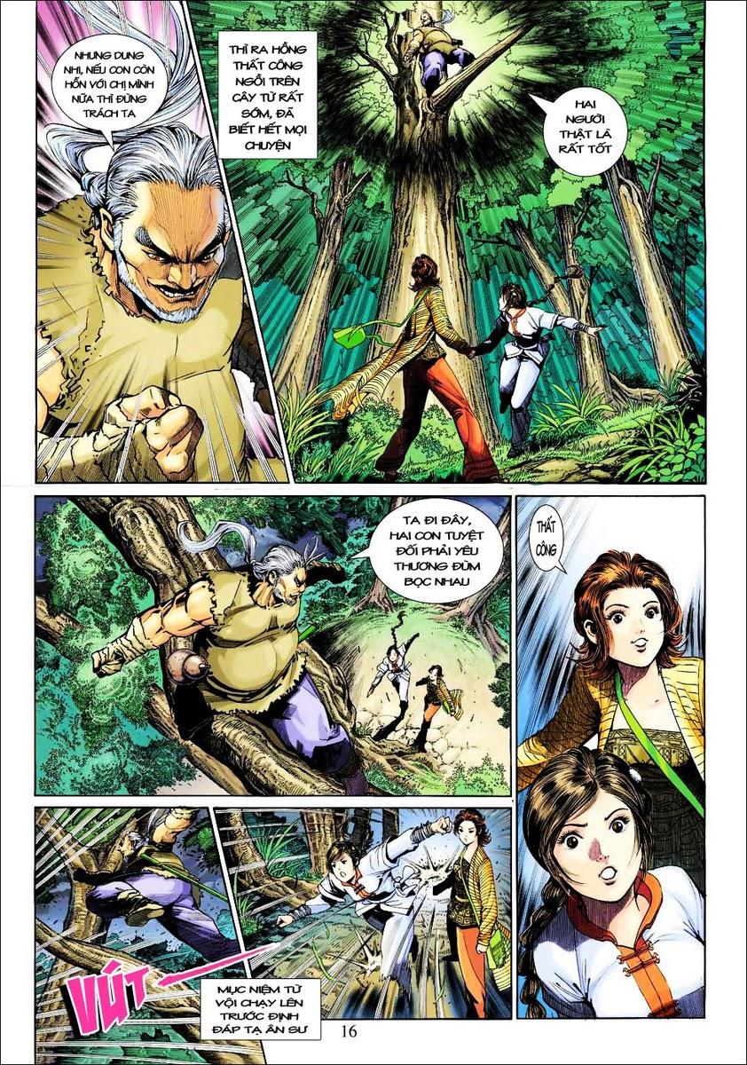 Anh Hùng Xạ Điêu anh hùng xạ đêu chap 25 trang 16
