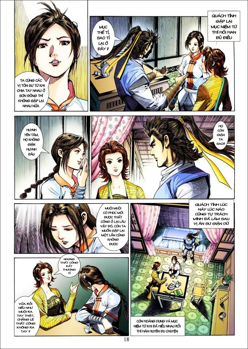 Anh Hùng Xạ Điêu anh hùng xạ đêu chap 25 trang 18