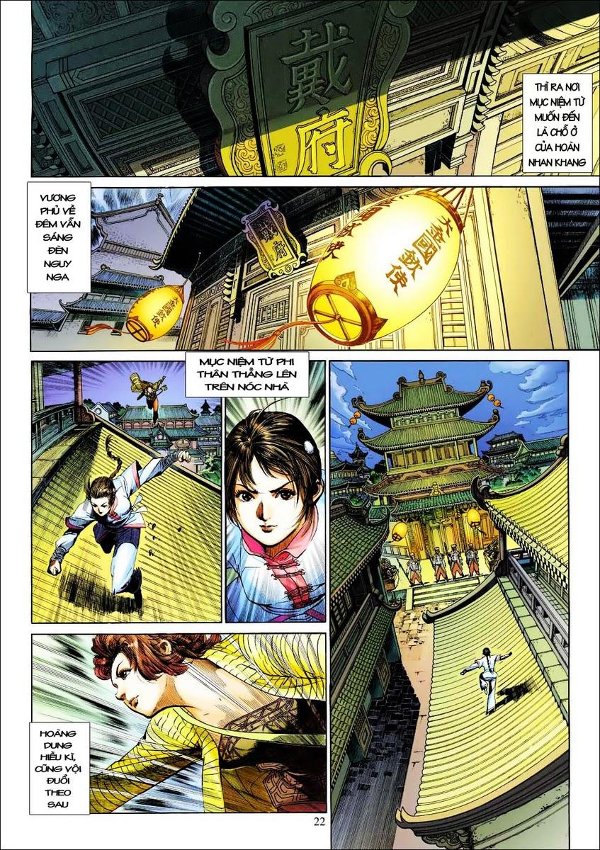 Anh Hùng Xạ Điêu anh hùng xạ đêu chap 25 trang 21