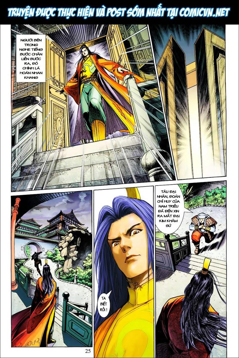 Anh Hùng Xạ Điêu anh hùng xạ đêu chap 25 trang 24