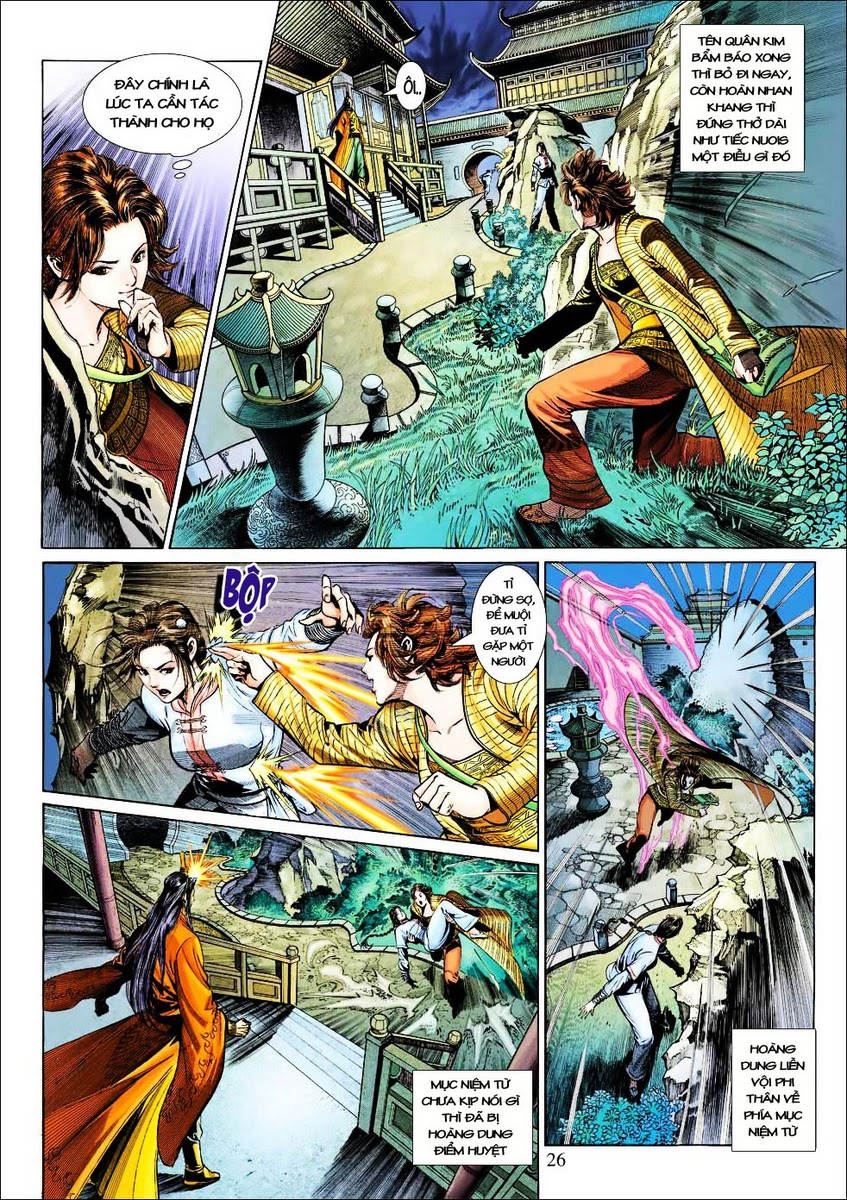 Anh Hùng Xạ Điêu anh hùng xạ đêu chap 25 trang 25