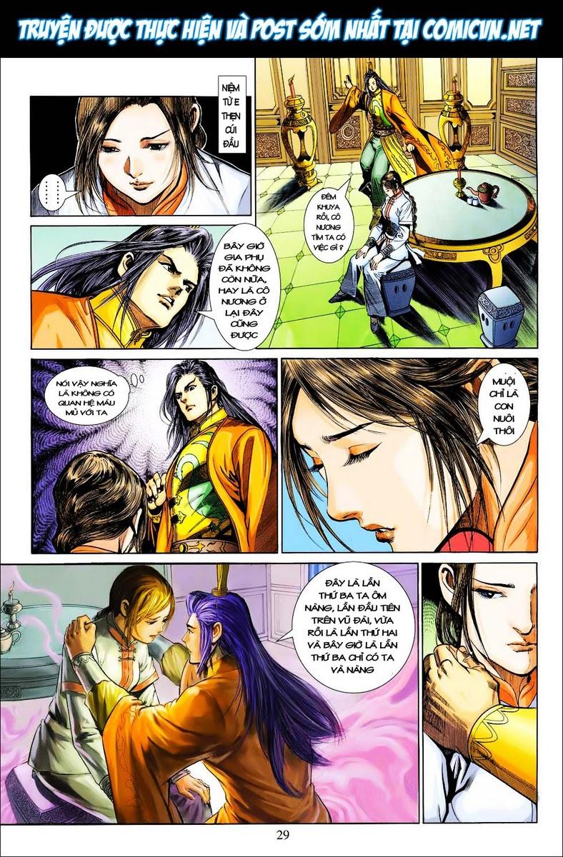 Anh Hùng Xạ Điêu anh hùng xạ đêu chap 25 trang 28