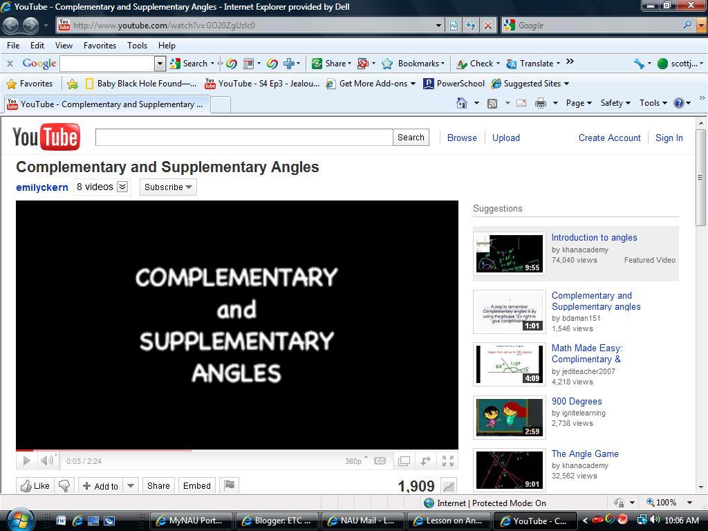 Etc 450 Lesson Blog November