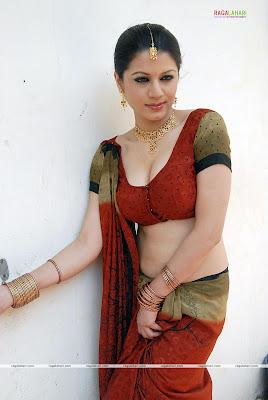 Sexy saree poses