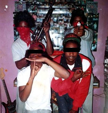 GANGS, BULLYING & THE MAFIA: Bloods Gang