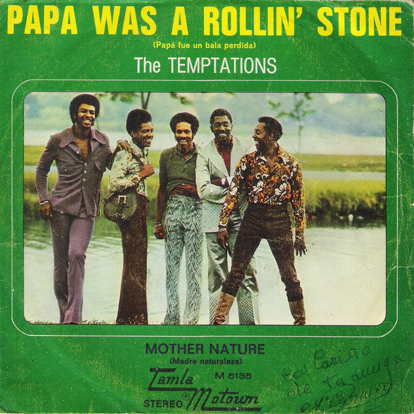 3 Penics The Temptations Papa Was A Rollin Stone