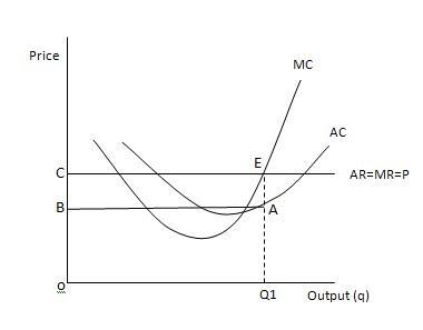 Economics: Short run profit Maximisation in perfect ...