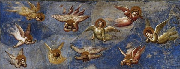 Detail from Giotto, Lamentation, Scrovegni Chapel, Padua