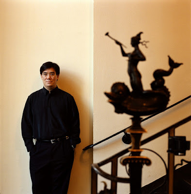 Photo of Conductor Alan Gilbert by Mats Lundquist