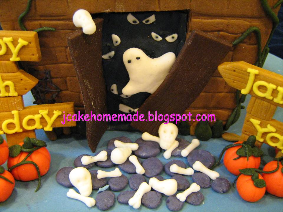House Cupcakes Haunted Made