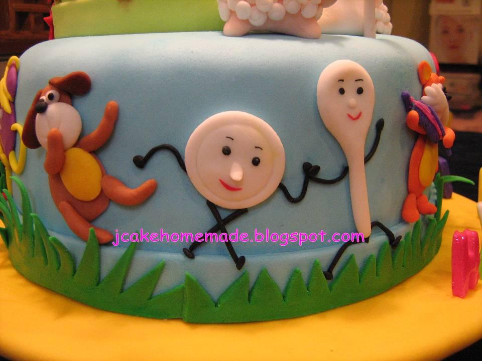 Jcakehomemade Nursery Rhymes Birthday Cake