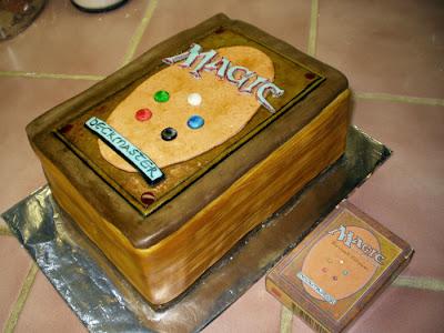 Magic The Gathering Birthday Cake Topper