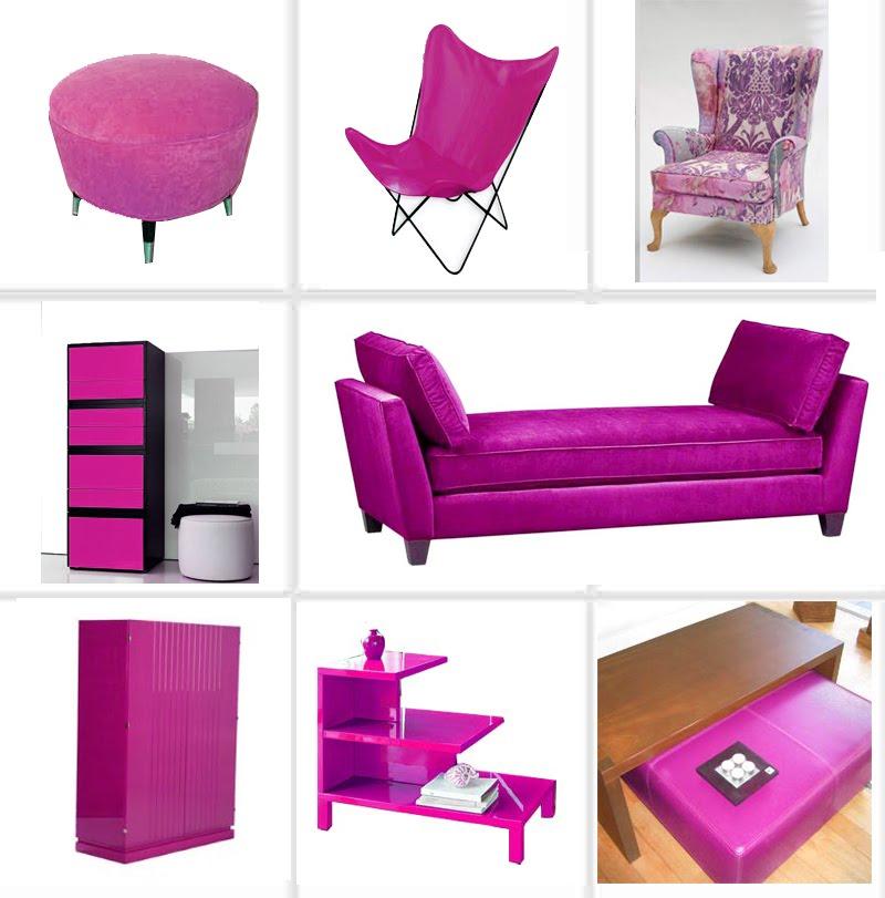 akasa home collection un mundo de alegres colores magenta. Black Bedroom Furniture Sets. Home Design Ideas