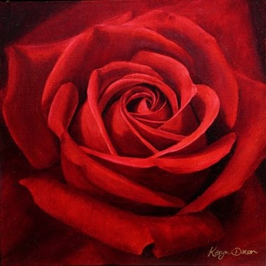 Red Rose This Is Probably One Of My Favourite Oil Paintings It Was Painted With Oils On Stretched Canvas Under Graham S Tuition I Wanted To Paint For