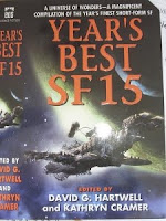 Cover image of 2010 anthology Years Best SF 15, edited by David G Hartwell and Kathryn Cramer