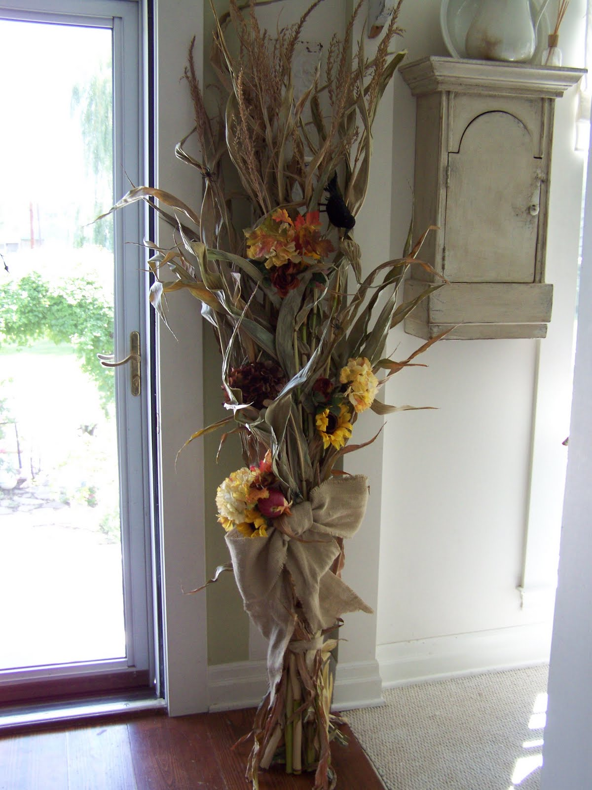 Corn Stalk Decoration Ideas Elitflat