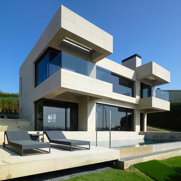 dise o de casa unifamiliar fachada single family house
