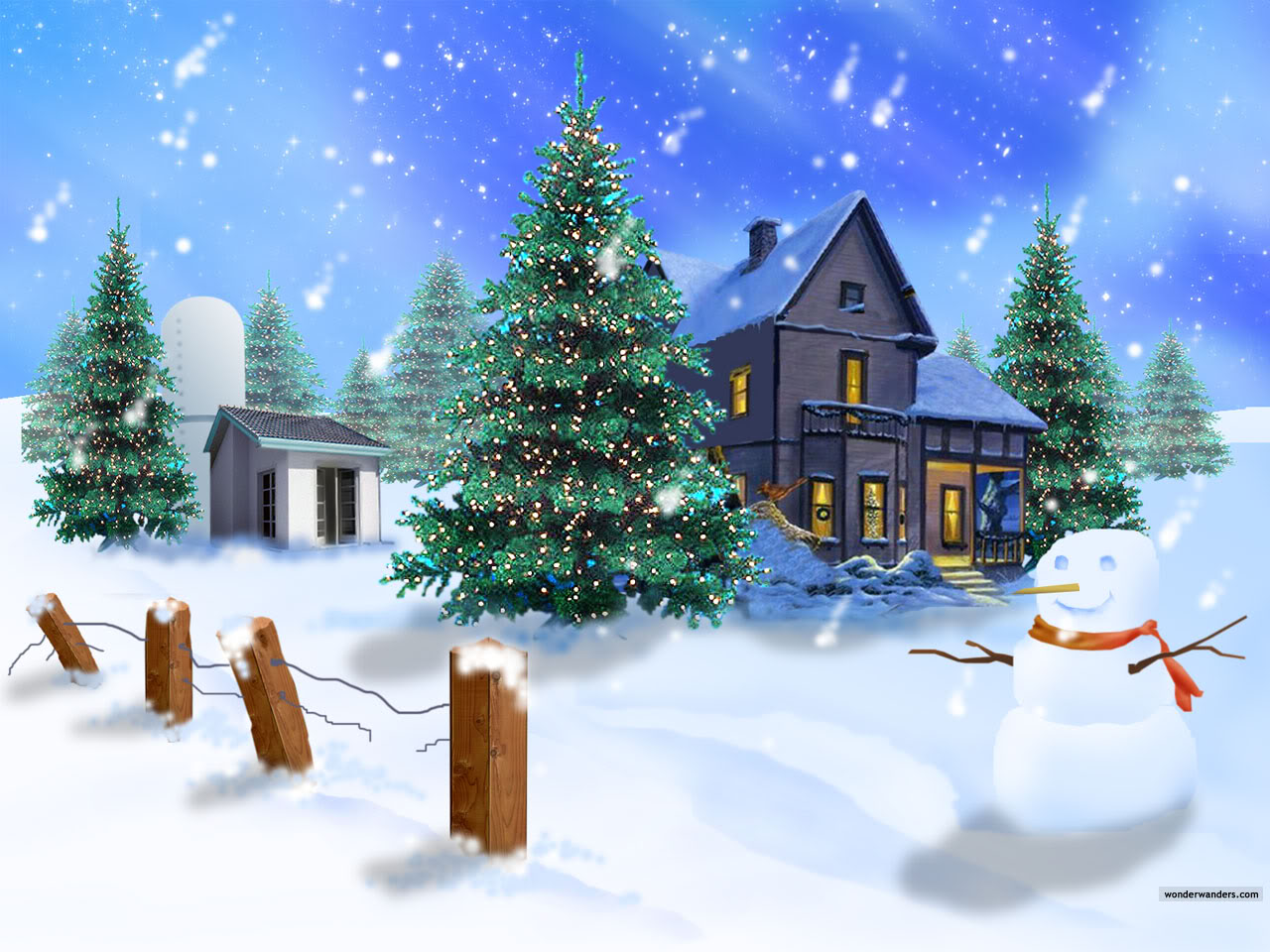 Fondos De Pantalla Navidenos: Celebrar La Navidad: Lindos Fondos De Pantalla De Navidad