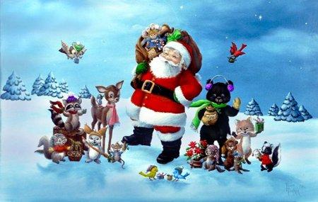 Dibujos De Navidad Infantiles Para Celebrar - Imagenes-infantiles-de-navidad